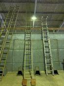 Metal ladder 7.3m