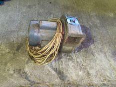 Electric fan, 240 volt