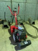 MTD Pro T/450/65 garden rotavator Manual in the office