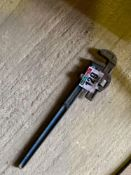 Stillson pipe wrench