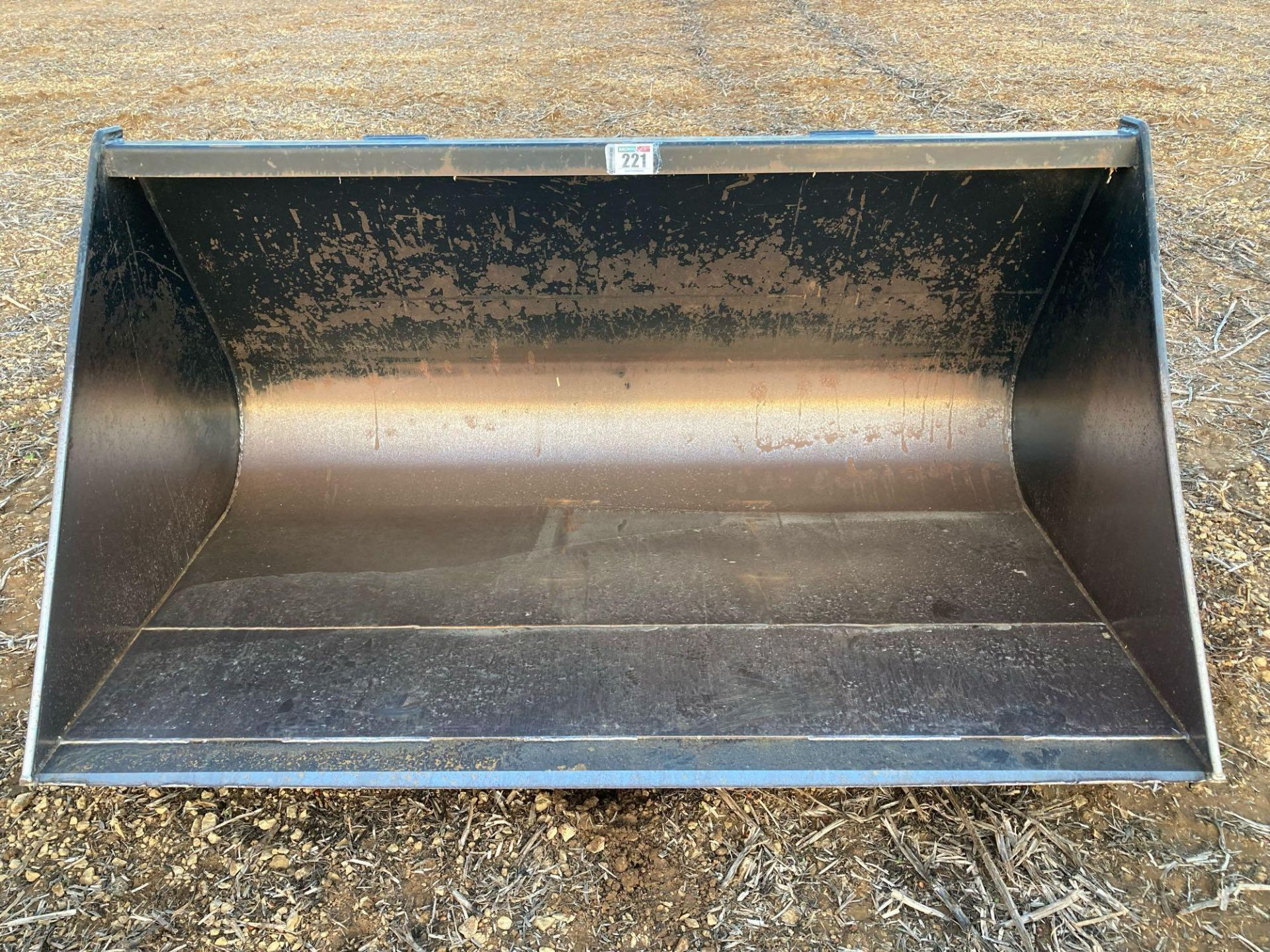 Strimech grain bucket with JCB Q fit brackets approx 2m