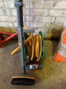 Hose pipe reel & brush