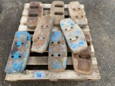 8 x FoMoCoweights to fit Ford