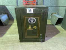 Samuel Withers & Co ltd safe with keys in office