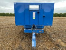 1997 Easterby 8t twin axle grain trailer, manual tail gate, Serial No: 3086