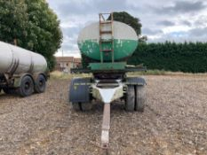 CWS Ltd stainless steel water bowser with aluminium outer skin