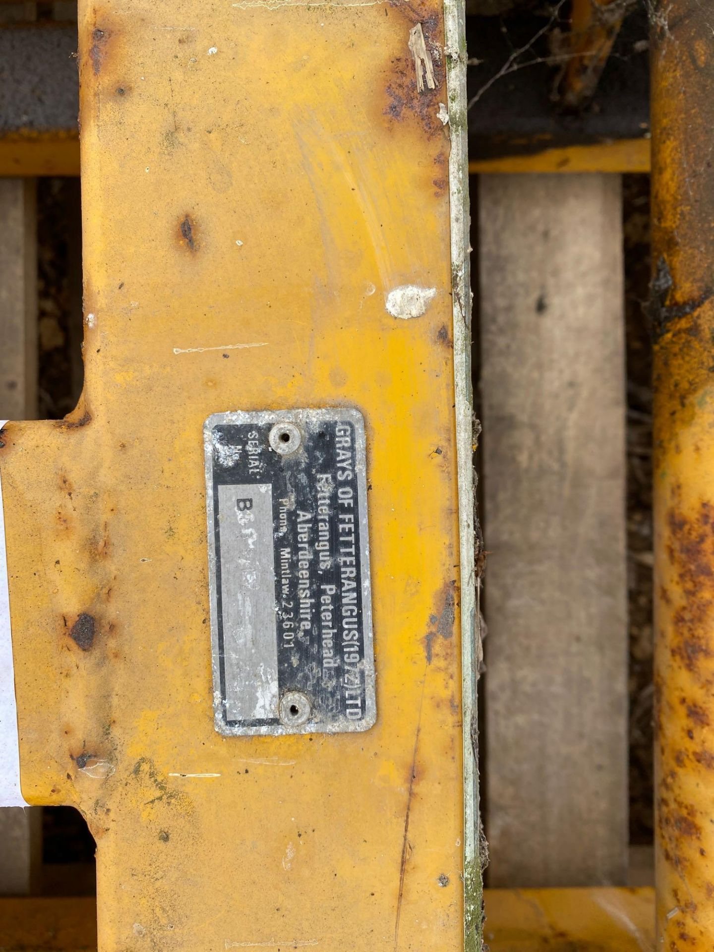 Grays round bale grab with JCB brackets - Image 4 of 5