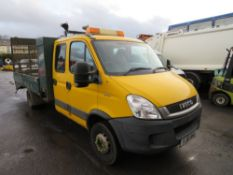 10 reg IVECO DAILY 60C18 BEAVERTAIL (DIRECT COUNCIL) 1ST REG 03/10, TEST 12/21, 63118M, V5 HERE, 1