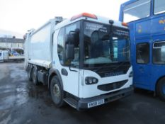 58 reg DENNIS N2429VRD2 REFUSE WAGON (DIRECT COUNCIL) 1ST REG 01/09, 55938M, V5 HERE, 1 OWNER FROM