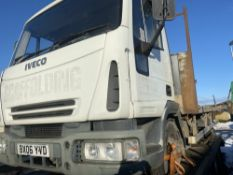06 reg IVECO 7.5t FLAT BED (LOCATION BLACKBURN) 1ST REG 05/06, PHOTOCOPY V5 ONLY(RING FOR COLLECTION