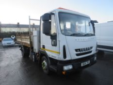 14 reg IVECO EUROCARGO 100E19 HOOK LIFT TIPPER (DIRECT COUNCIL) 1ST REG 04/14, TEST 05/21,