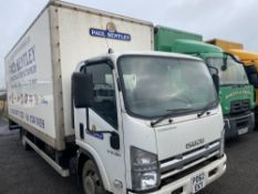 62 reg ISUZU FORWARD N75.190 7.5 TON BOX VAN C/W TAIL LIFT, 1ST REG 09/12, 229715 WARRANTED [+ VAT]