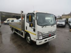 65 reg ISUZU FORWARD N65.150 DROPSIDE (DIRECT ELECTRICITY NW) 1ST REG 09/15, 54812KM,
