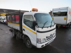 12 reg TOYOTA DYNA 350 D-4D MWB TIPPER (DIRECT COUNCIL) 1ST REG 03/12, TEST 03/21, 146793M, V5 HERE,
