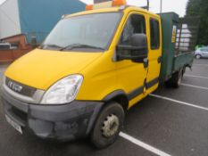 10 reg IVECO DAILY 60C18 BEAVER TAIL (DIRECT COUNCIL) 1ST REG 03/10, TEST 11/21, 56796M, [+ VAT]