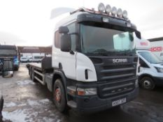 57 reg SCANIA P6X2 BEAVER TAIL, 1ST REG 11/07, V5 HERE, 5 FORMER KEEPERS [+ VAT]