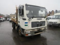 56 reg MAN TGL 8.180 7.5 TON TIPPER (DIRECT COUNCIL) 1ST REG 02/07, TEST 10/21, 119669KM, V5 HERE, 1
