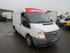 63 reg FORD TRANSIT T260 100, 1ST REG 01/14, 282430M, V5 HERE, 3 FORMER KEEPERS [NO VAT]