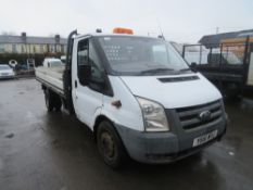 61 reg FORD TRANSIT 115 T350L RWD DROPSIDE PICKUP, 1ST REG 01/12, 187811M NOT WARRANTED, V5 HERE,