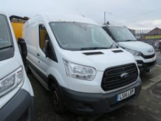16 reg FORD TRANSIT 310 TDCI VAN (NON RUNNER) 1ST REG 07/16, TEST 06/21, 168140M WARRANTED, V5 HERE,