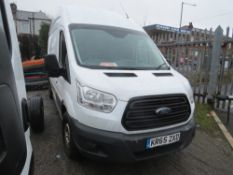 65 reg FORD TRANSIT 310 2.2 TDCI (NON RUNNER) 1ST REG 12/15, 202692M WARRANTED, V5 HERE, 1 OWNER