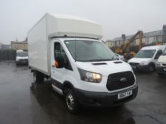 67 reg FORD TRANSIT 350 LUTON VAN, 1ST REG 11/17, 66382M, V5 HERE, 1 OWNER FROM NEW [+ VAT]
