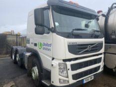 61 reg VOLVO FM460 6WHL TRACTOR UNIT (DIRECT UNITED UTILITIES WATER) (LOCATION WINSFORD) 1ST REG