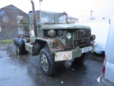 1996 US ARMY LORRY (NON RUNNER) NO V5, NO KEYS [+ VAT]
