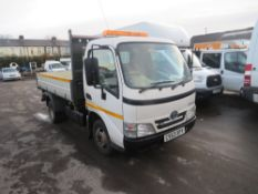 63 reg TOYOTA DYNA 350 D-4D MWB TIPPER (DIRECT COUNCIL) 1ST REG 01/14, TEST 01/21, 47947M, V5