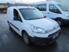 64 reg CITROEN BERLINGO 625 ENTERPRISE HDI (ON VCAR CAT N) 1ST REG 01/15, TEST 08/21, 156946M, V5
