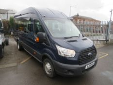 15 reg FORD TRANSIT 460 ECONETIC TECH MINIBUS, 1ST REG 06/15, 28056M, V5 HERE, 1 OWNER FROM NEW [+