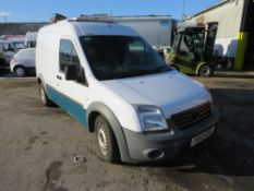 13 reg FORD TRANSIT CONNECT 90 T230 (DIRECT UNITED UTILITIES WATER) (NON RUNNER) 1ST REG 08/13, TEST