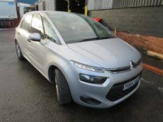 64 reg CITROEN C4 PICASSO VTR HDI (DIRECT COUNCIL) 1ST REG 09/14, 129691M, V5 HERE, 1 OWNER FROM NEW