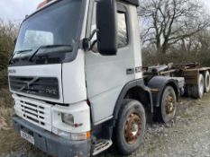 51 reg VOLVO FM12 340 8 WHEEL HOOK LIFT WAGON (DIRECT COUNCIL) (LOCATION ANGLESEY) 1ST REG 09/01,