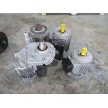 4 X IMER 110V ELECTRIC MOTORS [NO VAT]