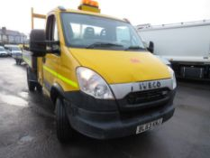 63 reg IVECO DAILY 70C17 TIPPER C/W HIAB (DIRECT COUNCIL) 1ST REG 01/14, TEST 04/21, 111440KM, V5