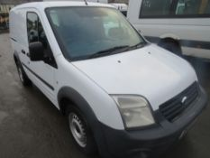 62 reg FORD TRANSIT CONNECT T220 CREW VAN, 1ST REG 10/12, 100065M WARRANTED, V5 HERE, 1 OWNER FROM