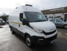 66 reg IVECO DAILY 35C21 MWB, 1ST REG 09/16, TEST 08/21, 108669M WARRANTED, V5 HERE, 1 FORMER KEEPER