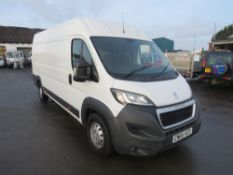 65 reg PEUGEOT BOXER L3 H2 (TAPPING ENGINE - SMOKES WHEN COLD) 1ST REG 09/15, 78771M, NO V5 [NO