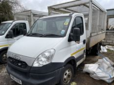 63 reg IVECO 50C15 CAGED TIPPER (DIRECT COUNCIL) (LOCATION LEEK) 1ST REG 11/13, 101771M, V5 TO