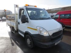 62 reg IVECO DAILY 35S13 DROPSIDE C/W TAIL LIFT, 1ST REG 02/13, TEST 03/22, 175886M WARRANTED, V5