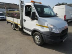 14 reg IVECO 35S13 DROPSIDE C/W TAIL LIFT, 1ST REG 03/14, TEST 03/22, 103921M WARRANTED, V5 HERE,