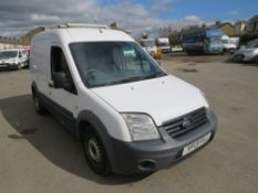 13 reg FORD TRANSIT CONNECT 90 T230 (DIRECT UNITED UTILITIES WATER ) 1ST REG 06/13, TEST 06/21,