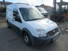 13 reg FORD TRANSIT CONNECT 90 T230 (DIRECT UNITED UTILITIES WATER) 1ST REG 06/13, TEST 08/21,