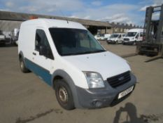 12 reg FORD TRANSIT CONNECT 90 T230 (NON RUNNER) (DIRECT UNITED UTILITIES WATER) 1ST REG 06/12,
