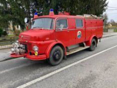 1967 MERCEDES 710 FIRE ENGINE LHD (LOCATION SKELMERSDALE) RUNS & DRIVES, COMES WITH ORIGINAL MASKS &