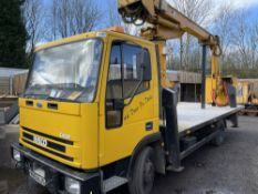 W reg FORD IVECO CHERRY PICKER (LOCATION BLACKBURN) 1ST REG 02/00, V5 HERE (RING FOR COLLECTION