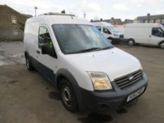 62 reg FORD TRANSIT CONNECT 90 T230 (DIRECT UNITED UTILITIES WATER) 1ST REG 10/12, TEST 09/21,