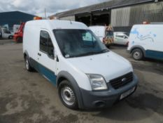 12 reg FORD TRANSIT CONNECT 90 T230 (DIRECT UNITED UTILITIES WATER) 1ST REG 05/12, 160521M, V5 MAY