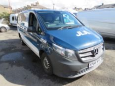 65 reg MERCEDES VITO 109 CDI, 1ST REG 02/16, TEST 02/22, 168411M, V5 HERE, 2 FORMER KEEPERS [NO